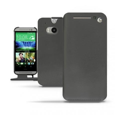 HTC One M8  leather case - Noir ( Nappa - Black )