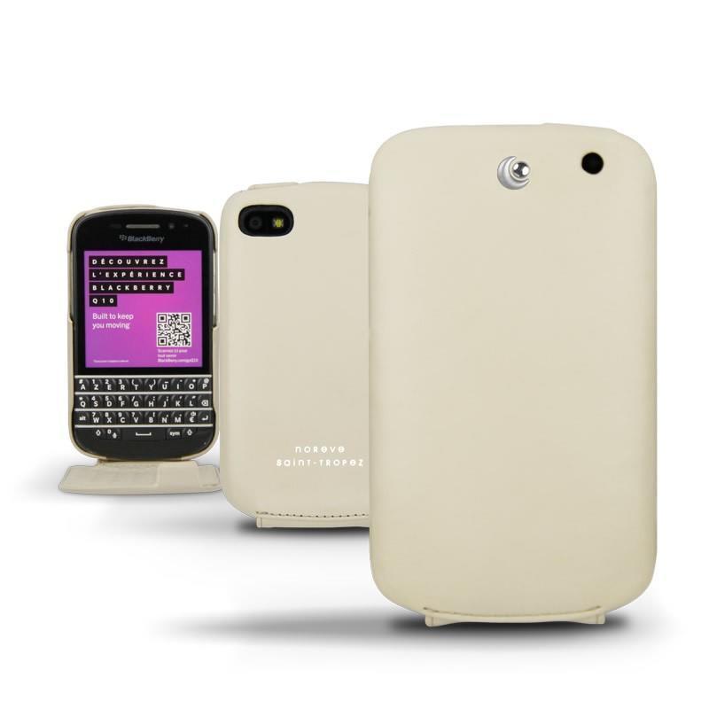 Blackberry q10 protections en cuir coques housses tuis for Housse blackberry q10