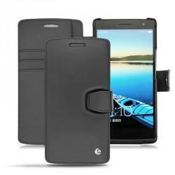 Oppo Find 7  leather case - Noir ( Nappa - Black )