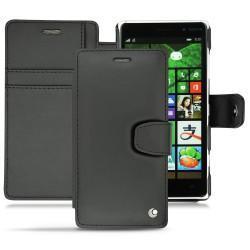 レザーケース Nokia Lumia 830  - Noir ( Nappa - Black )