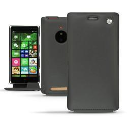 硬质真皮保护套 Nokia Lumia 830  - Noir ( Nappa - Black )