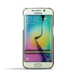 가죽 커버 Samsung Galaxy S6 Edge - Noir ( Nappa - Black )