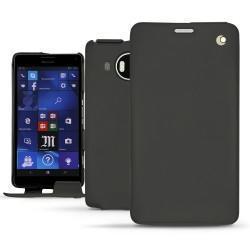 硬质真皮保护套 Microsoft Lumia 950 XL - 950 XL Dual Sim - Noir ( Nappa - Black )