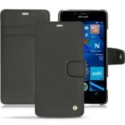 Housse cuir Microsoft Lumia 950 - 950 Dual Sim - Noir ( Nappa - Black )