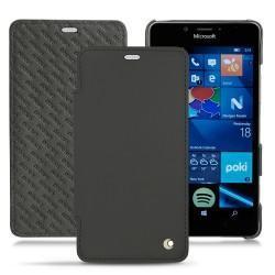 가죽 커버 Microsoft Lumia 950 - 950 Dual Sim - Noir ( Nappa - Black )
