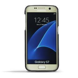 가죽 커버 Samsung Galaxy S7 - Noir ( Nappa - Black )