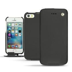 Custodia in pelle Apple iPhone SE - Noir ( Nappa - Black )