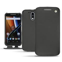 Funda de piel Motorola Moto G4 - Noir ( Nappa - Black )