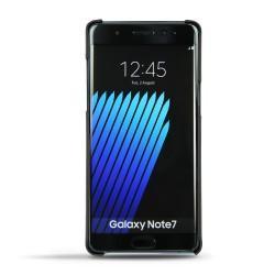 가죽 커버 Samsung Galaxy Note 7 - Noir ( Nappa - Black )