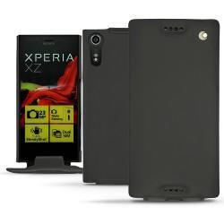 가죽 커버 Sony Xperia XZ - Noir ( Nappa - Black )