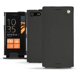 Funda de piel Sony Xperia X Compact - Noir ( Nappa - Black )