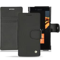 硬质真皮保护套 Sony Xperia X Compact - Noir ( Nappa - Black )