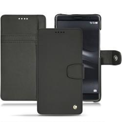 Huawei Mate 8 leather case - Noir ( Nappa - Black )