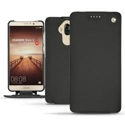 Huawei Mate 9 leather case - Noir ( Nappa - Black )