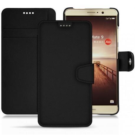 硬质真皮保护套 Huawei Mate 9 - Noir PU