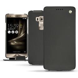 Housse cuir Asus Zenfone 3 Deluxe 5.7 ZS570KL - Noir ( Nappa - Black )