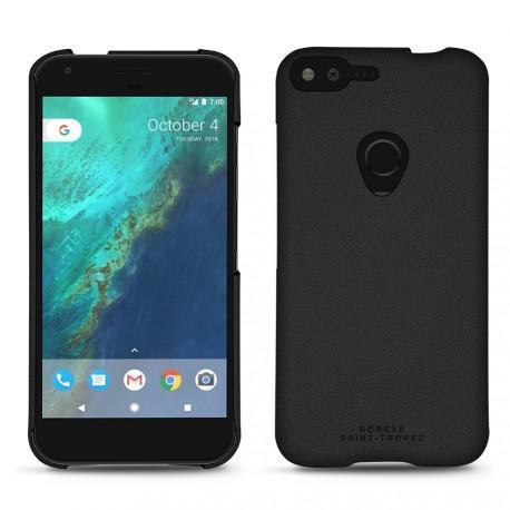 Coque cuir Google Pixel XL - Noir PU