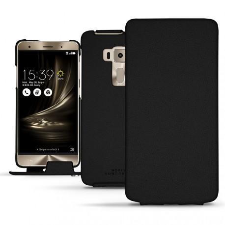 Housse cuir Asus Zenfone 3 Deluxe 5.7 ZS570KL - Noir PU