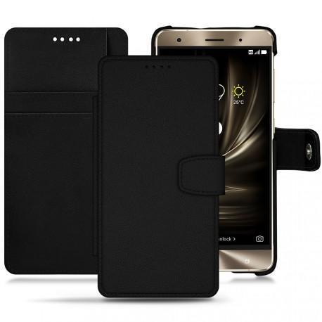 Asus Zenfone 3 Deluxe  5.7 ZS570KL leather case - Noir PU
