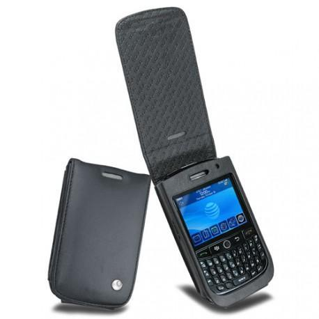 Blackberry curve 8900 leather case for Housse pour blackberry curve
