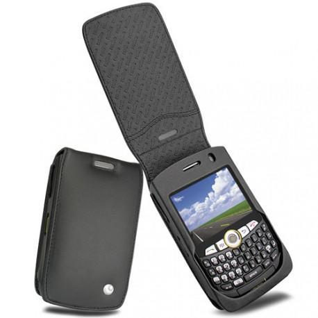 Custodia in pelle BlackBerry Curve 8350i  - Noir ( Nappa - Black )