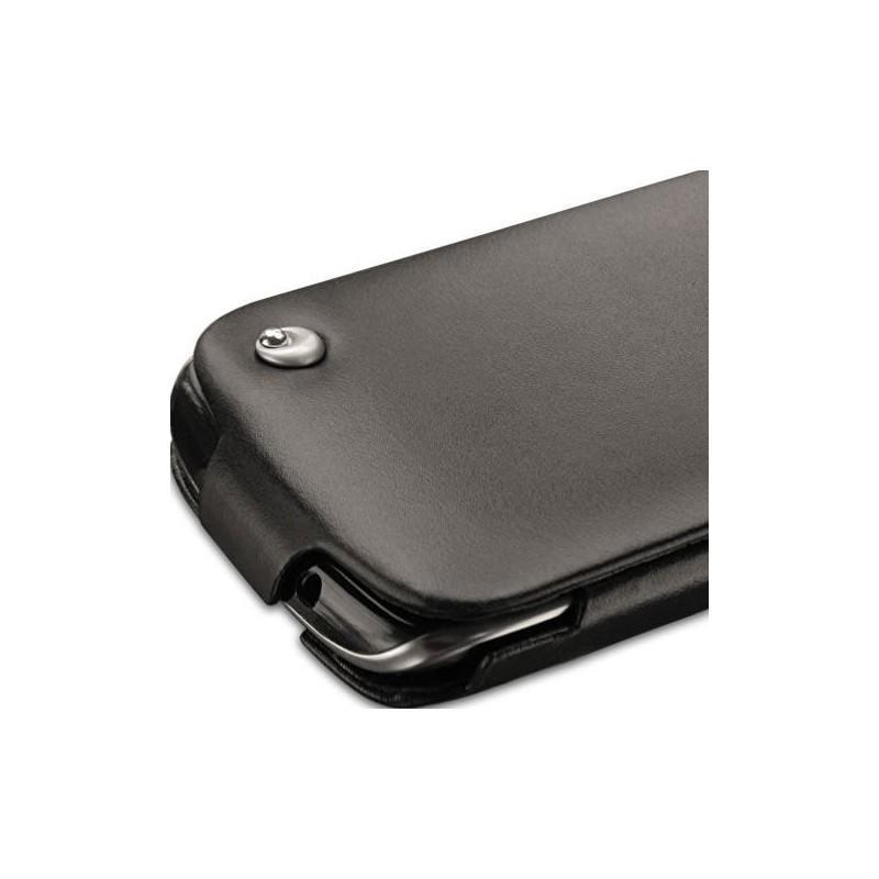 Blackberry curve 9380 leather case for Housse blackberry curve