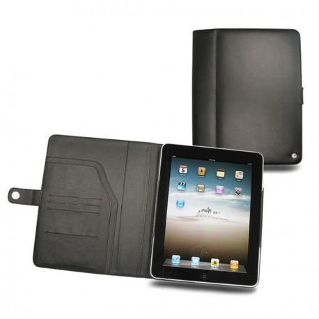 가죽 커버 Apple iPad  - Noir ( Nappa - Black )