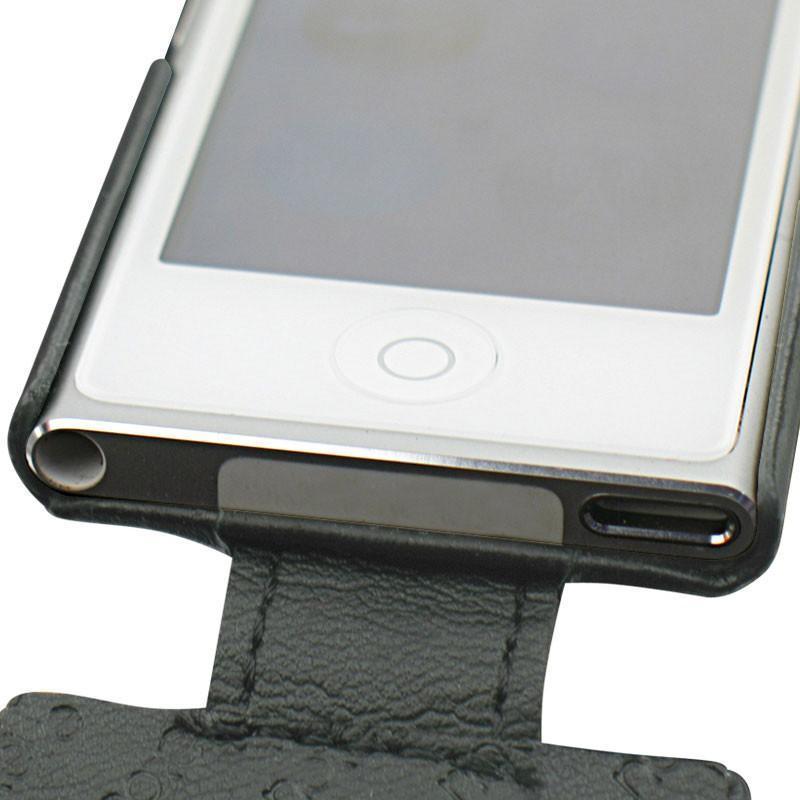 custodia in pelle apple ipod nano 7g. Black Bedroom Furniture Sets. Home Design Ideas