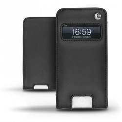 Apple iPhone 5 leather pouch
