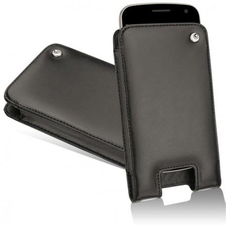 Housse cuir Samsung Galaxy Nexus - Noir ( Nappa - Black )