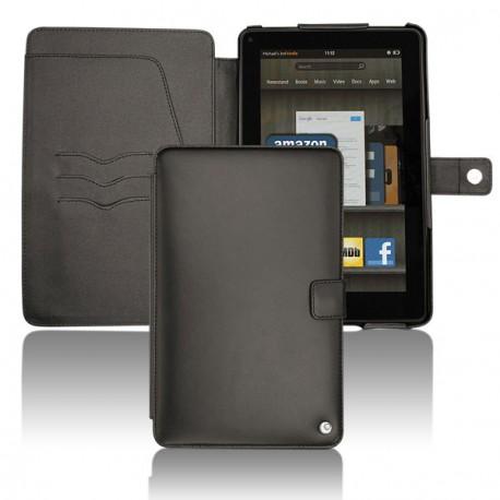 가죽 커버 Amazon Kindle Fire  - Noir ( Nappa - Black )