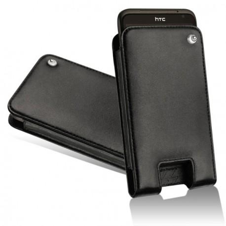 Lederschutzhülle HTC Sensation XL - HTC Titan - Noir ( Nappa - Black )