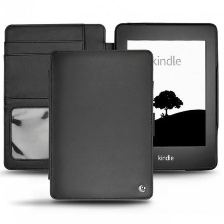Amazon Kindle Paperwhite  leather case - Noir ( Nappa - Black )
