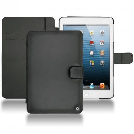 Apple iPad mini  leather case - Noir ( Nappa - Black )