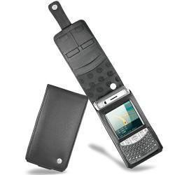 Fujitsu-Siemens Loox T810 - T830  leather case - Noir ( Nappa - Black )