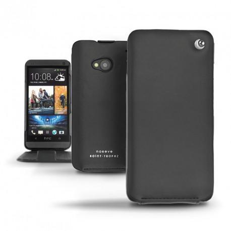 Custodia in pelle HTC One  - Noir ( Nappa - Black )