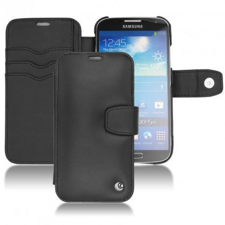 Samsung GT-i9500 Galaxy S IV leather case - Noir ( Nappa - Black )