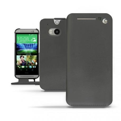 HTC One M8  leather case - Noir ( Nappa - Black )