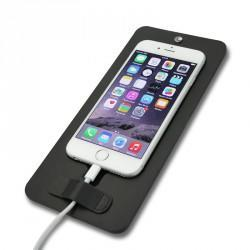 NorevePad pour Apple iPhone 6 Plus - Noir ( Nappa - Black )