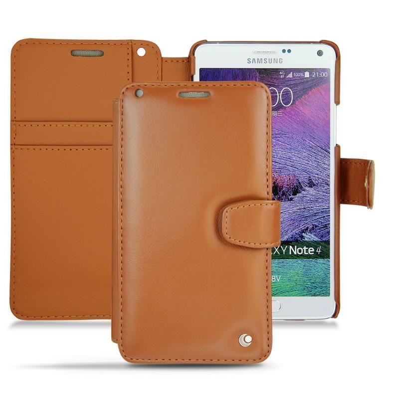 Protections en cuir tui coque housse pour samsung for Housse samsung note 4