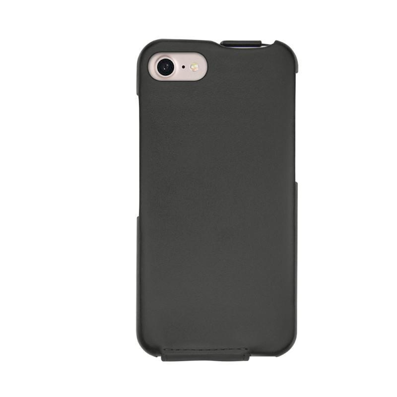 Protections en cuir tuis coques housses pour apple for Housse iphone 7 cuir