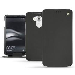 Huawei Mate 8 leather case - Noir ( Nappa - Black )