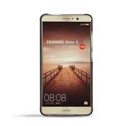 Huawei Mate 9 leather cover - Noir ( Nappa - Black )