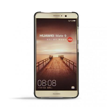 Custodia in pelle Huawei Mate 9 - Noir ( Nappa - Black )