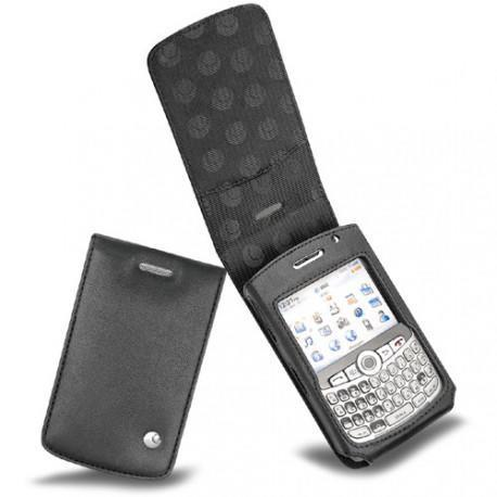 Blackberry curve 8300 leather case for Housse blackberry curve