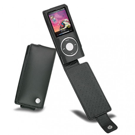 Noreve leather case apple ipod nano 4g nano chomatic for Housse ipod nano