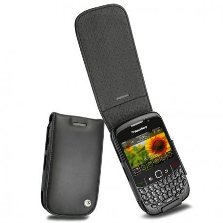 Blackberry curve 8520 8530 9300 leather case for Housse blackberry curve