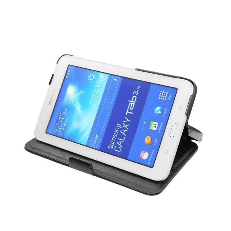 Samsung sm t110 galaxy tab 3 lite 7 0 leather case for Housse samsung galaxy
