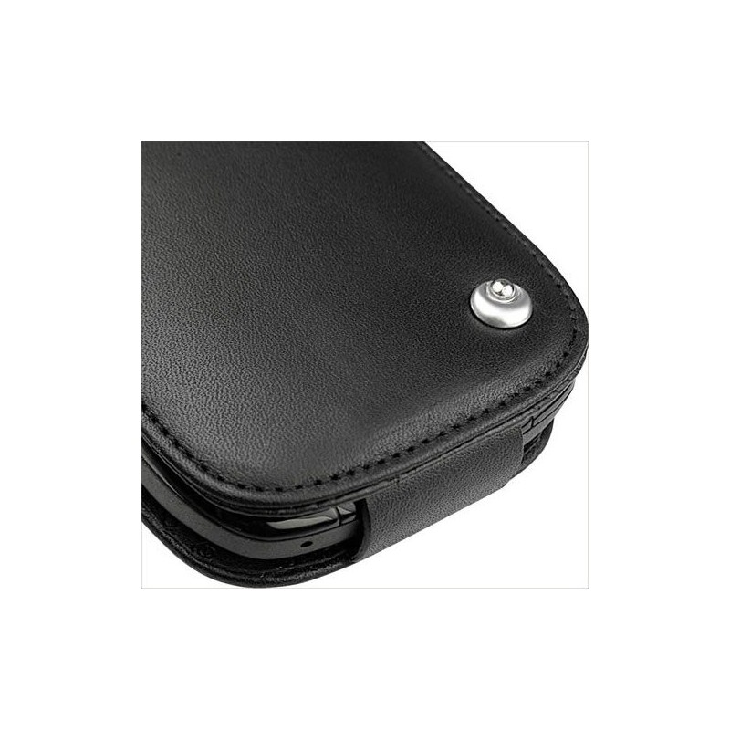 blackberry curve 8520 8530 9300 leather case On housse blackberry curve 9300