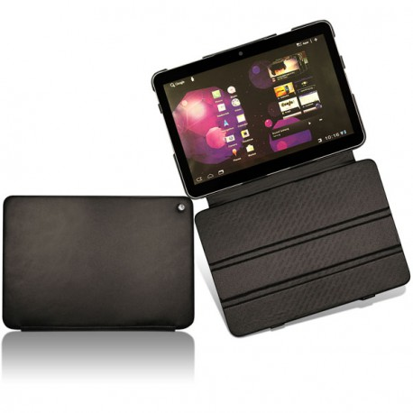 Samsung gt p7100 galaxy tab 10 1v leather case for Housse archos 101